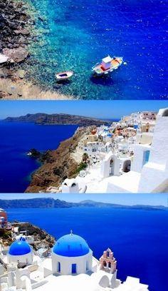 Santorini- ahhhh!! I know I keep posting Santorini but I have ALWAYS wanted to go there, sooo beautiful!
