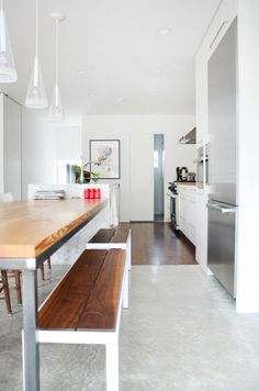 A Gorgeous Warm Modern Kitchen Spotlight