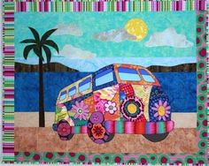 Gotta' Love My Bus – Quilting Books Patterns and Notions