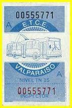 TROLEBUSES VALPARAISO CHILE