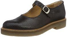 Rockport - Chaussures Ch Sharleen Maryjane pour femme, 38.5 EU, Black Lthr