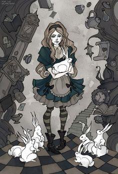 "camilladiiorgi: ""Alice by IrenHorrors """