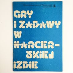 """""""The third book in the set of Polish Cub Scout books, 1984. Also set in Letraset Beans."""""""