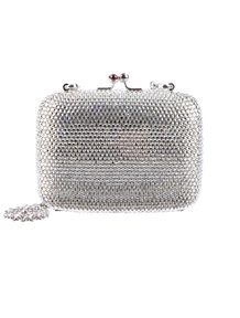 8df5679c816b Judith Leiber Minaudi re Clutch. This one is all silver