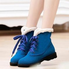 Fleece-Lined Short Boots from #YesStyle <3 Pangmama YesStyle.com
