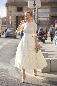 Que falda!!!