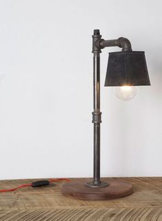 This lamp is great as well. Would look great with a classic shade as well.