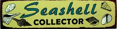 Seashell Collector Tin Sign   OceanStyles.com