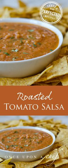 Roasted Tomato Salsa but obviously do not use Wesson! Use something like rice bran or avocado oil.