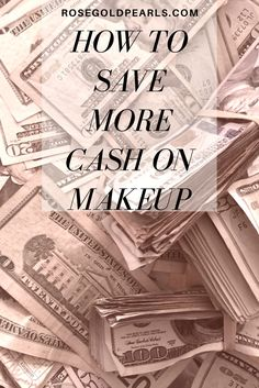 Are you looking for money saving tips for makeup junkies on a budget? Need help saving more money on beauty items? Check out these tips for more info!