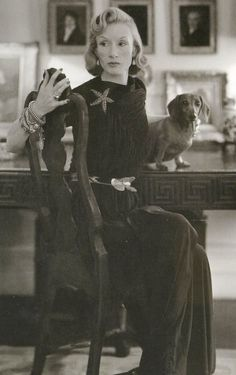 Millicent Rogers in 1945. Innovative jewelry designer and collector of Native American art.