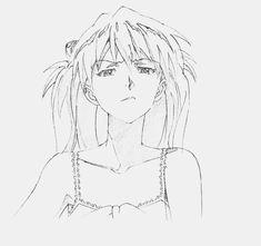 Groundwork of Evangelion Art Book Cute Drawings, Drawing Sketches, Otaku, Old Anime, Sketch Inspiration, Naruto Art, Neon Genesis Evangelion, Cultura Pop, Manga Art