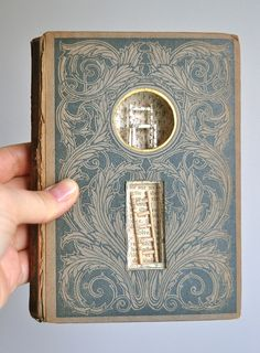 Untitled, altered book, by Brooke Schmidt.