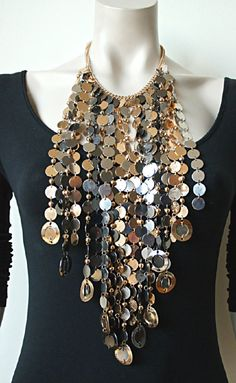 Statement Ketting met echte wow effect! Joelle (KK-BB-1513) #statementketting #statementkettingen #statementpieces