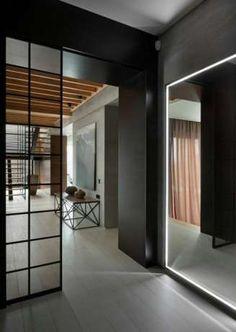 Sciany ruchome ściany dzialowe metalowe metalowe ramy drzwi Katowice - image 1