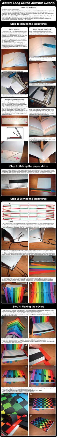 Rainbow Book Tutorial by Marenne.deviantart.com on @deviantART