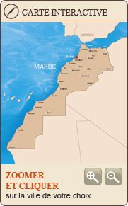 "Office marocain du tourisme - PHOTOS -VIDEOS - BROCHURES (NB The actual Official Map of Morocco, not the western version which splits it with the ""Western Sahara"")"