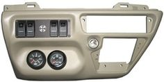 Riffraff Diesel Custom F-650 Manual Dash Kit