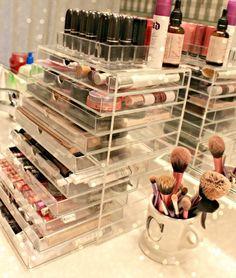 MUJI ACRYLIC DRAWERS   Makeup Storage / Organization + Makeup Collection