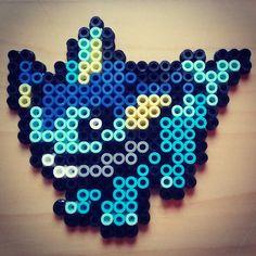 #vaporeon #pokemon #Nintendo #perlerart #hama #pyssla #perler #art