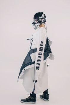IKEUCHI Hiroto (@ik_products) / Twitter Cyberpunk Mode, Cyberpunk Fashion, Cyberpunk Clothes, Inspiration Mode, Character Design Inspiration, Cool Outfits, Fashion Outfits, Mode Streetwear, Drawing Clothes