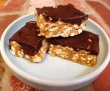 Recipe Gluten Free Choc-Corn Peanut Butter Slice  | Thermomix #Gluten Free Recipe Competition