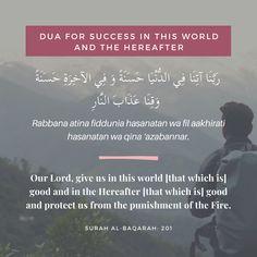 Prayer Verses, Quran Verses, Prayer Quotes, Islamic Teachings, Islamic Dua, Islamic Quotes, Quran Quotes Love, Quran Quotes Inspirational, Dua For Success