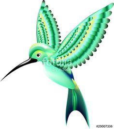 cute hummingbird vector 01 dibujos pinterest hummingbird
