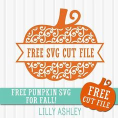 Free Pumpkin SVG cut file