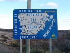 Placa na Patagônia Argentina - Viagem com Sabor