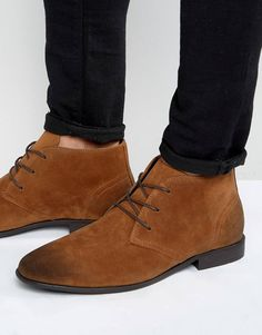 6fc9b8eb7a4a1b Chukka Boots In Tan Faux Suede