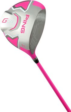 Limited Edition Bubba Pink PING #golf Driver - http://www.golfshake.com/news/view/3839/Limited_Edition_Bubba_Pink_PING_Drivers.html