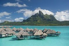 Our honeymoon! The most beautiful place on earth! St. Regis Bora Bora!