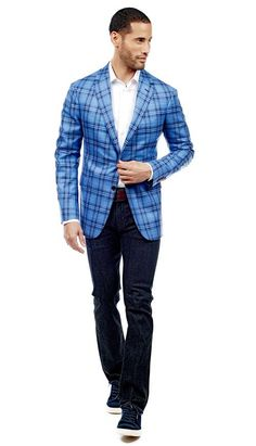 Ariston Blue Plaid Jacket  #menswear #mensfashion #graysuit #mensstyle #glennplaid #wedding #weddingsuit #groom #groomssuit #groomsmen #groomsman #weddingstyle #suitandtie #bluesuit #plaidsuit #strippedsuit #pinstripes #tux #tuxedo #weddingtuxedo #blacktux #plaid #plaidjacket
