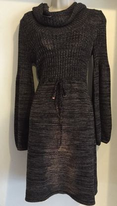 Ellen Tracy Womens sweater dress size medium So Cute And Soft Dry Clean Only #EllenTracy #SweaterDress #weartoworkorchurchordinner