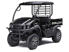 New 2017 Kawasaki Mule SX 4x4 XC SE ATVs For Sale in Florida. Packed with value and undeniable capability, the new 2017 Mule SX 4x4 XC SE Side x Side has a rugged new appearance and enhanced versatility. The powerful engine, robust drivetrain, large wheels and generous ground clearance enable maximum off-road capability. 401 cc air-cooled, 4-stroke; selectable 2WD / 4WD Steel cargo bed with textured floor is durable and scratch resistant Up to 1,100 lbs. of towing capacity and 400 lb. cargo…