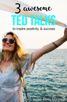 Ted Talks will inspire you to be positive and successful. boost your self confidence, how to be more positive, secrets of success,