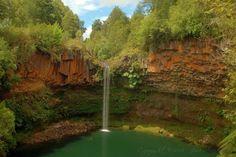 La Olla Waterfall - Pilmaiquen River  X Región de Los Lagos