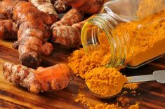 "7 Ways to Eat (& Drink!) Turmeric :|: ""To get the most out of your turmeric add 3% black pepper to the mix. Black pepper improves the bioavailability of turmeric, making smaller doses more effective."" This works out to about 1/2 teaspoon of ground pepper to 1/4 cup of turmeric."