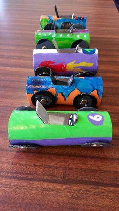 Activité manuelle ; petite voiture