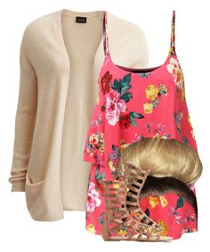 """""""Read D"""" by siniababy ❤ liked on Polyvore featuring VILA, LE3NO and Wild Diva"""