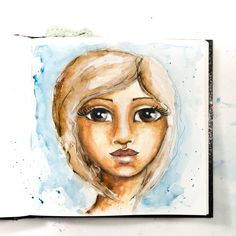 watercolor portraits #ikmetliefde