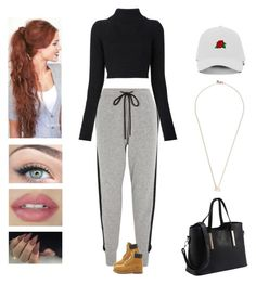 Red velvet - stupid Cupid by kyndraxsvt on Polyvore featuring polyvore fashion style Balmain Markus Lupfer Shaun Leane clothing