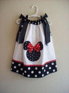 Minnie pillow case dress