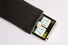 Pinstripe Grey Case For HTC One