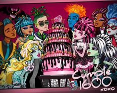 moster high sweet 1600