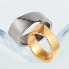 Angela Hubel - Bond Wedding Ring - ORRO Contemporary Jewellery Glasgow - www.orro.co.uk