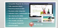 45 Beautiful Responsive Magento Themes