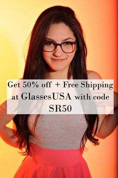 Get a discount at GlassesUSA! #glasses