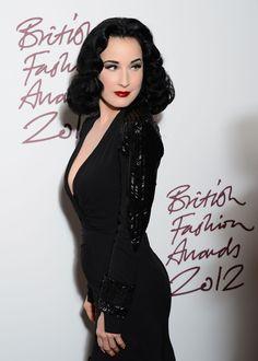 f61d86536e1 Dita Von Teese Photos - Dita Von Tesse attends the British Fashion Awards  2012 at The Savoy Hotel on November 2012 in London